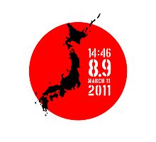 Japan Earthquake Photographic Print