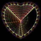 Structured Heart by Leoni Mullett