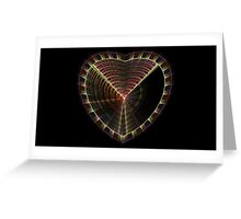 Structured Heart Greeting Card