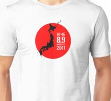 Japan Earthquake Unisex T-Shirt
