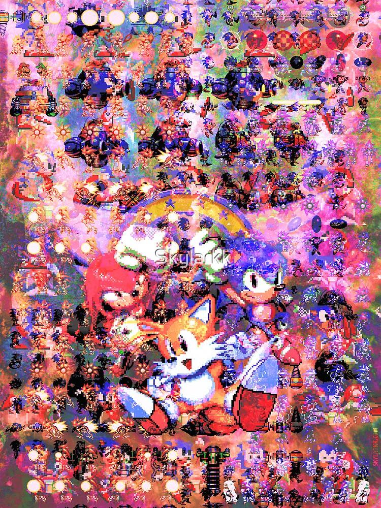 The Original Sonic Heros by Skylarkk