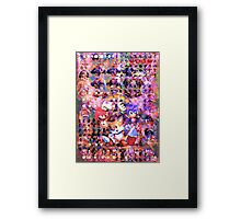 The Original Sonic Heros Framed Print