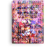The Original Sonic Heros Metal Print