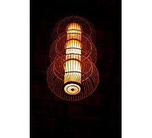 Saigon Lamp Photographic Print