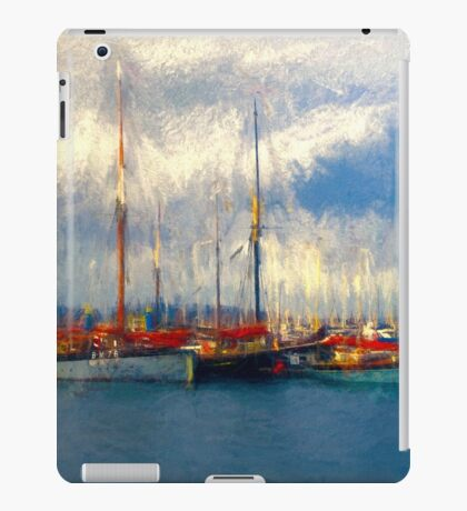 Waiting to sail iPad Case/Skin