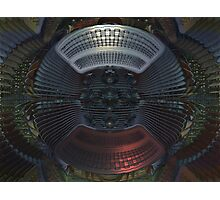 Flying Saucer Repair Facility  Photographic Print