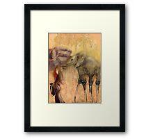 Walkers Framed Print