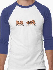 Krabby Kingler Men's Baseball ¾ T-Shirt
