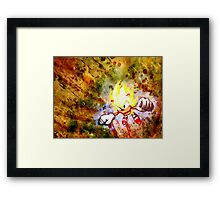 Going Super Sonic Framed Print