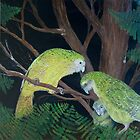 Family - kakapo by Pam Buffery