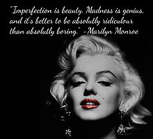 Marilyn Monroe Quote by bubblybrit10