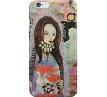 Modern girl iPhone Case/Skin
