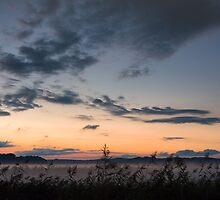 Misty Sunset by Kasia-D