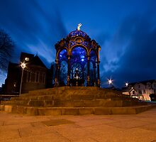 Merthyr Fountain by Clive  Rees
