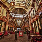 Leadenhall Market, London by Graham Ettridge