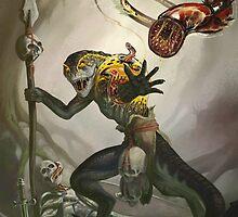 Lizardman Host by DeanSpencerArt