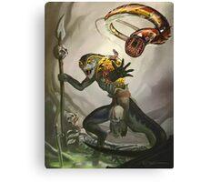 Lizardman Host Canvas Print