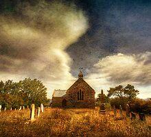 Church Graveyard texturised by Philip Greenwood