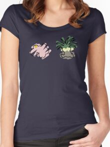 exeggcute exeggutor Women's Fitted Scoop T-Shirt