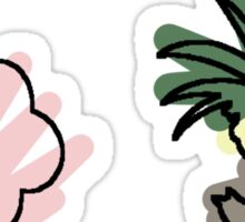 exeggcute exeggutor Sticker
