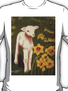Little Lamb who made thee? T-Shirt