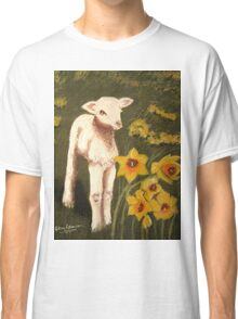 Little Lamb who made thee? Classic T-Shirt