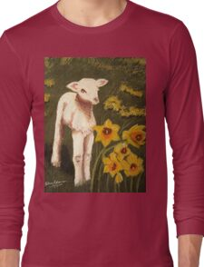 Little Lamb who made thee? Long Sleeve T-Shirt