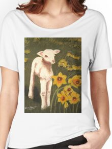 Little Lamb who made thee? Women's Relaxed Fit T-Shirt
