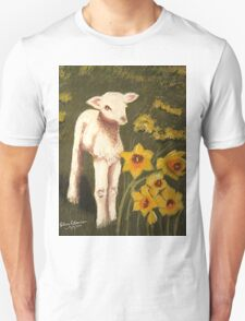 Little Lamb who made thee? Unisex T-Shirt
