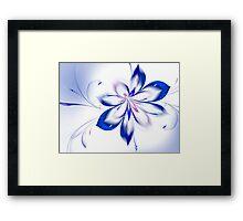 Blue Glass Framed Print