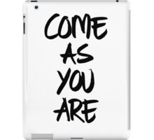 Come as you are, brush - OneMandalaAday iPad Case/Skin