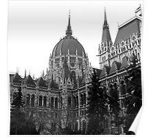 Parliament Building (Országház), Budapest Poster