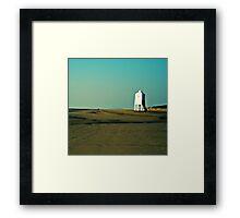 Low lighthouse, Bridgewater, Somerset Framed Print