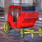 Kids Photo Op Stagecoach  -  Stockyards Fort Worth Texas by jphall