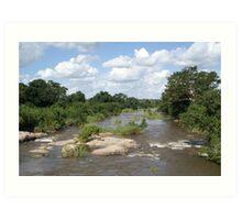 Sabie River - Kruger National Park Art Print
