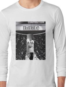 EraserBeakerHead Long Sleeve T-Shirt