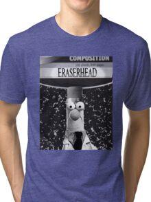 EraserBeakerHead Tri-blend T-Shirt