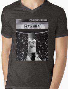EraserBeakerHead Mens V-Neck T-Shirt