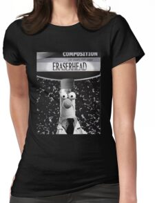 EraserBeakerHead Womens Fitted T-Shirt