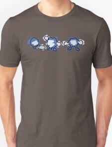 Poliwag, Poliwhirl, Poliwrath Unisex T-Shirt
