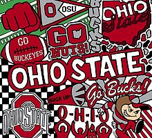 Ohio State University Collage by coreybloomberg