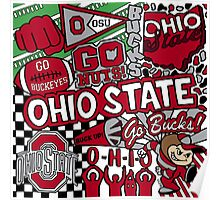 Ohio State University Collage Poster