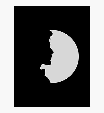 eleventh doctor shadow Photographic Print