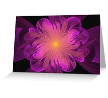 Ruffled Splendor  Greeting Card