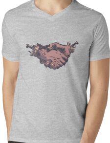 Friends Forever Mens V-Neck T-Shirt