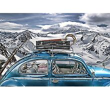 Beetle in the Alps Photographic Print