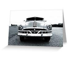 Classic Pontiac Greeting Card