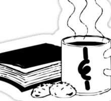 Tea & Books Sticker