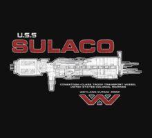 U.S.S. Sulaco - Aliens by createdezign