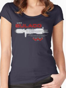 U.S.S. Sulaco - Aliens Women's Fitted Scoop T-Shirt